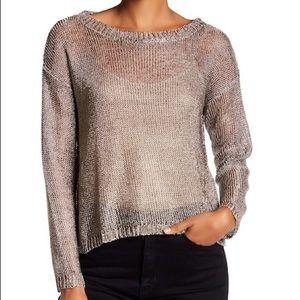 Zadig & Voltaire Deluxe metallic sweater